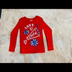 Girls love cheer shirt size 6